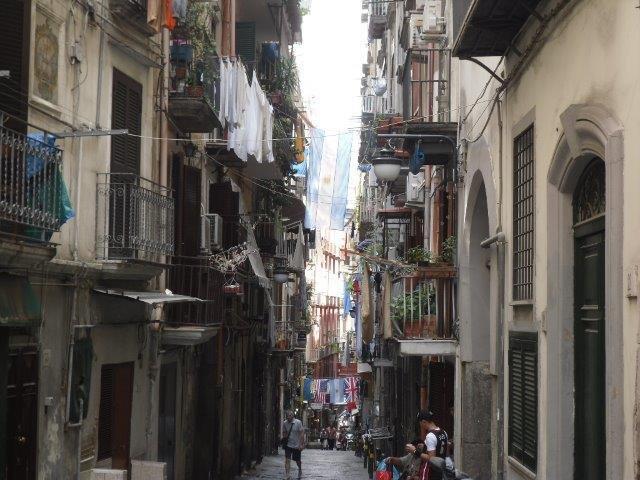Vicoli Naples Alleyways