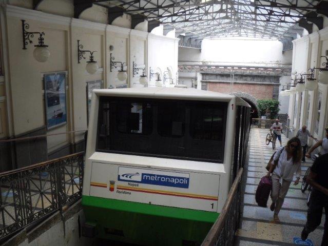 Naples Public Transport Funicolare Centrale