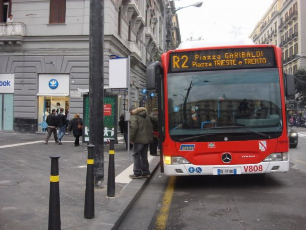 Bus in Naples