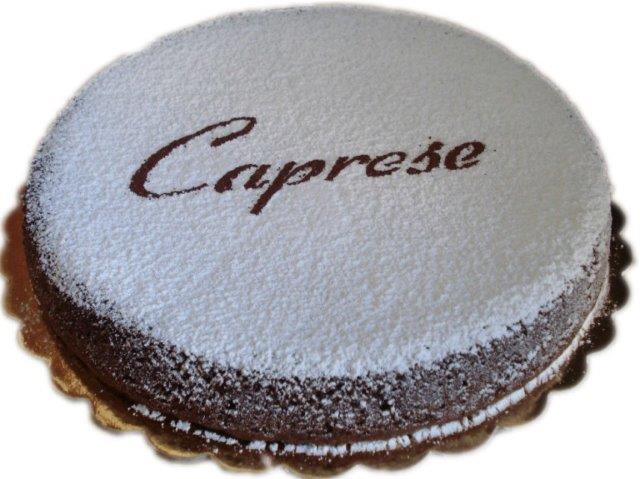 Naples food Caprese Cake