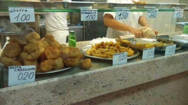 Naples food friggitoria